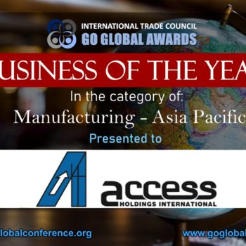 Business of the Year for Manufacturing- Asia Pacific